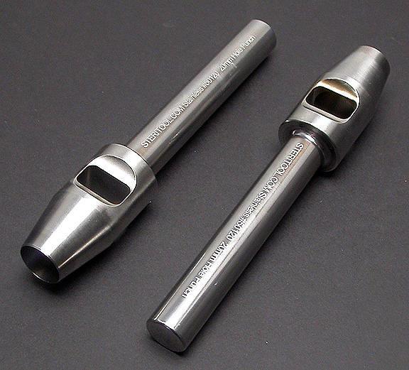 Rustfri huggepibe 4,0mm - 20,0mm