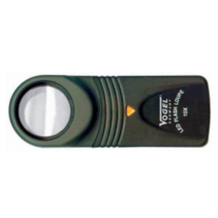 VOGEL Håndlup med led lys 10X eller 15X forstørrelse