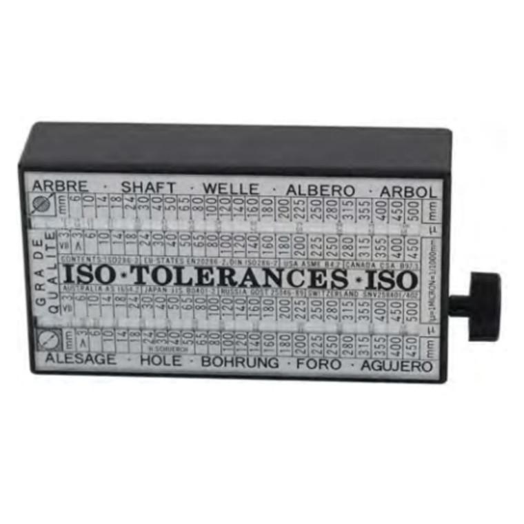 Tolerator-ISO Alle ISO tolerancer op til 500 mm