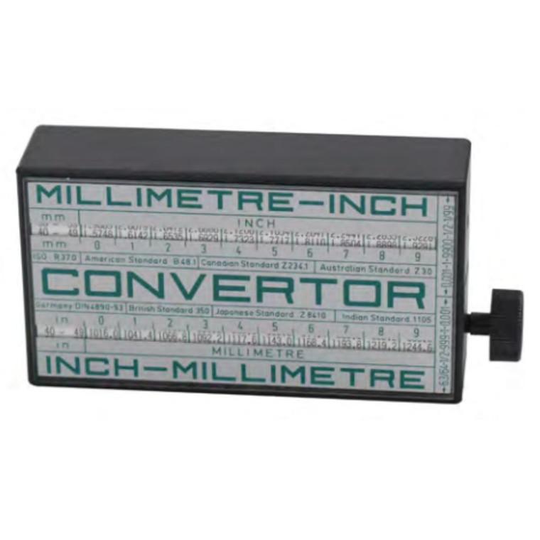 Convertor Omregningstabel MM-TOMMER