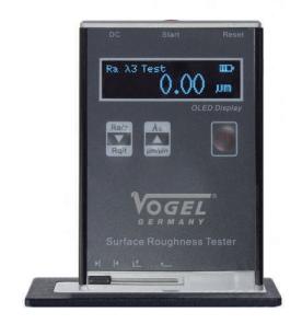 Vogel digital ruhedstester med LCD display Ra: 0,01-10 / RZ: 0,1-50