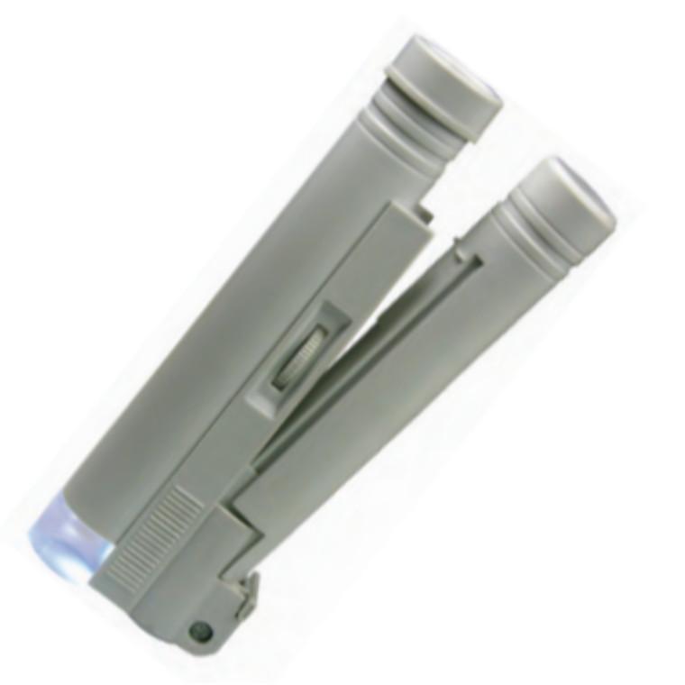 MIB rør mikroskop med LED lys 11X forstørrelse