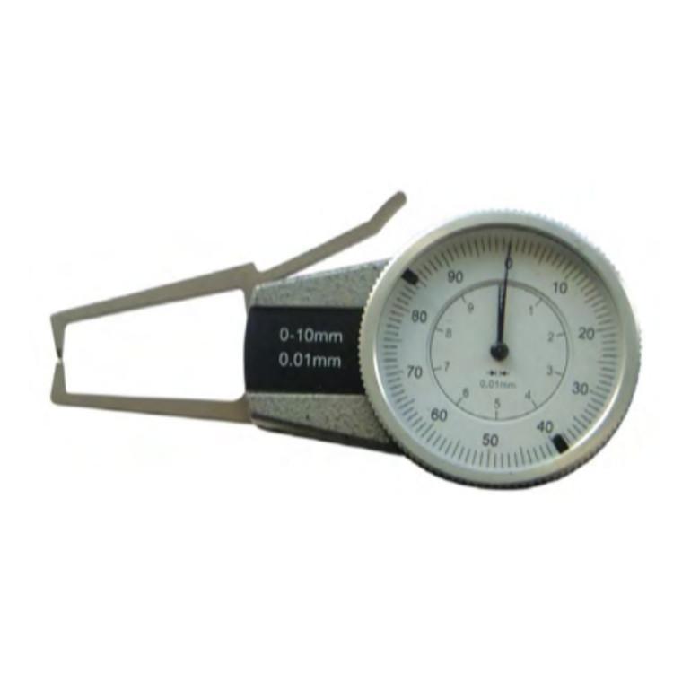 MIB tykkelsesmåler 0-20 mm, 0,01 mm Målearm længde 80 mm