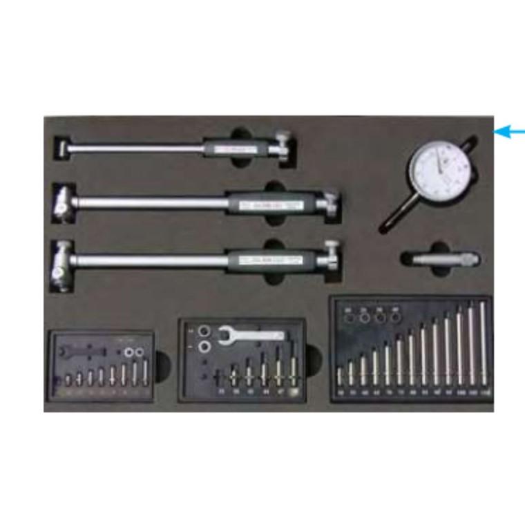 MIB indvendig cylindermål 18-160 mm inkl. måleur. målepinde i stål
