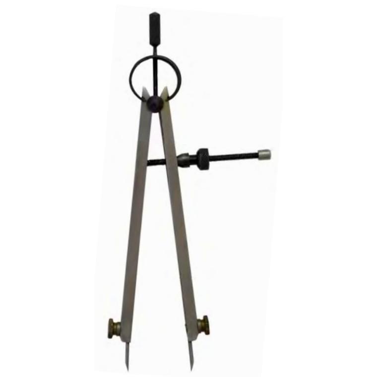 MIB passere med fjeder og stilleskrue, udskiftlige spidser 75-600 mm