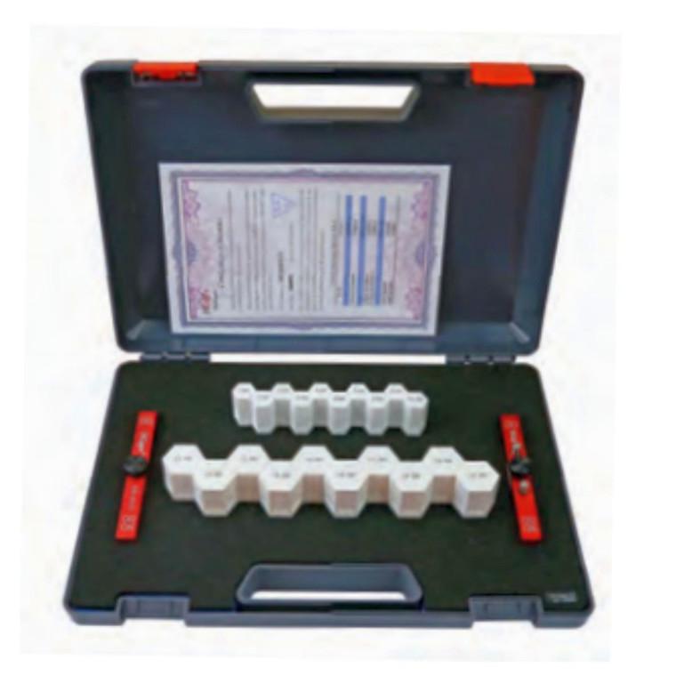 MIB målestifter i sæt 0,5-20,0 mm - 40 stk 0,5mm spring - Nøjagtighed +/- 0,004 mm