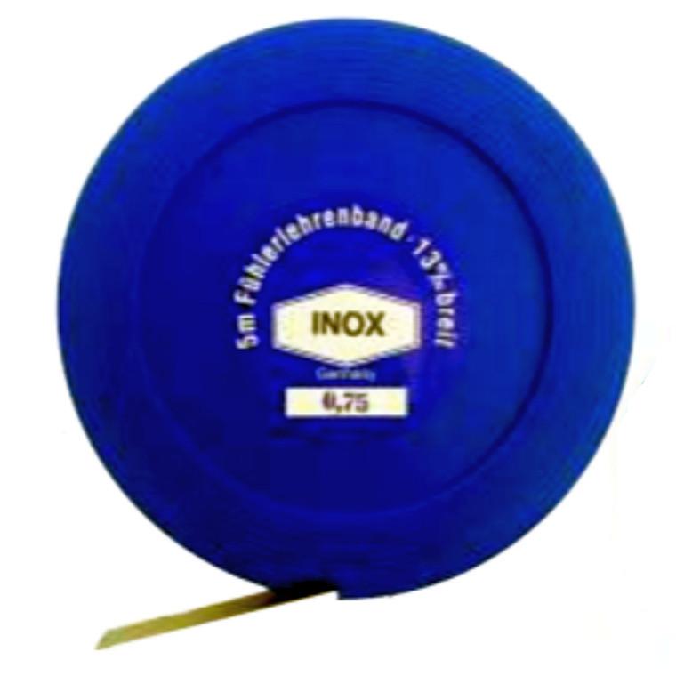 MIB rustfrit søgerstål i 5m ruller, brede 12,7 mm, 0,005-1,00 mm