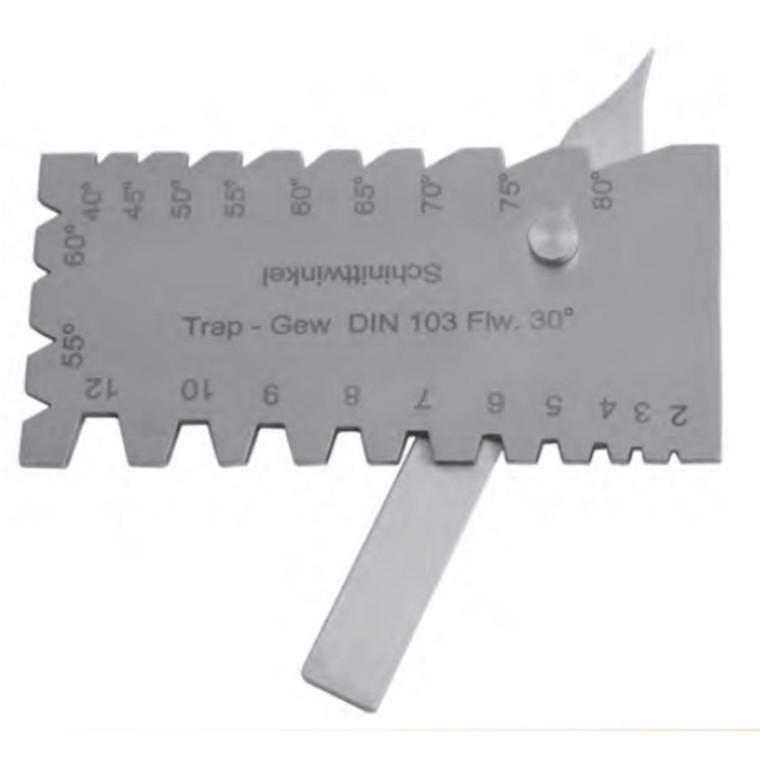 MIB kombinationsstållære  0-30° f/ slibning af drejning- og gevindværktøj