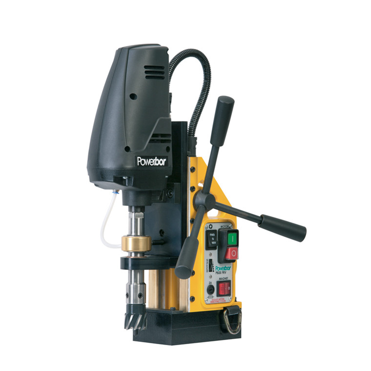 Powerbor magnetboremaskine PB 35 combi reversibel og variabel.  maskin nr.