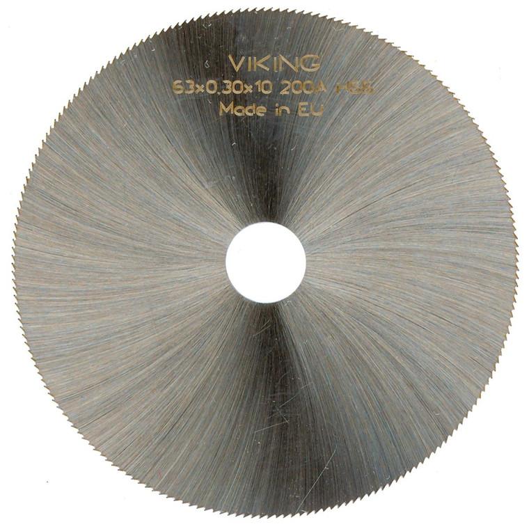 VIKING HSS Rundsavblade/kærvfræsere DIN1837 A - Fintandet - Ø20 - 315 mm