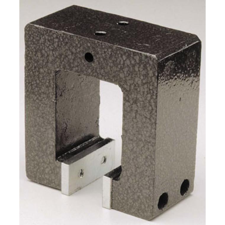 Stor Alnico-magnet - god til magnetisering L:103mm  B:50mm H:111mm