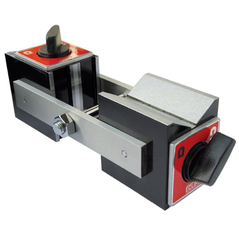 Positionerbar magnet med tænd/sluk-kontakt i begge ender
