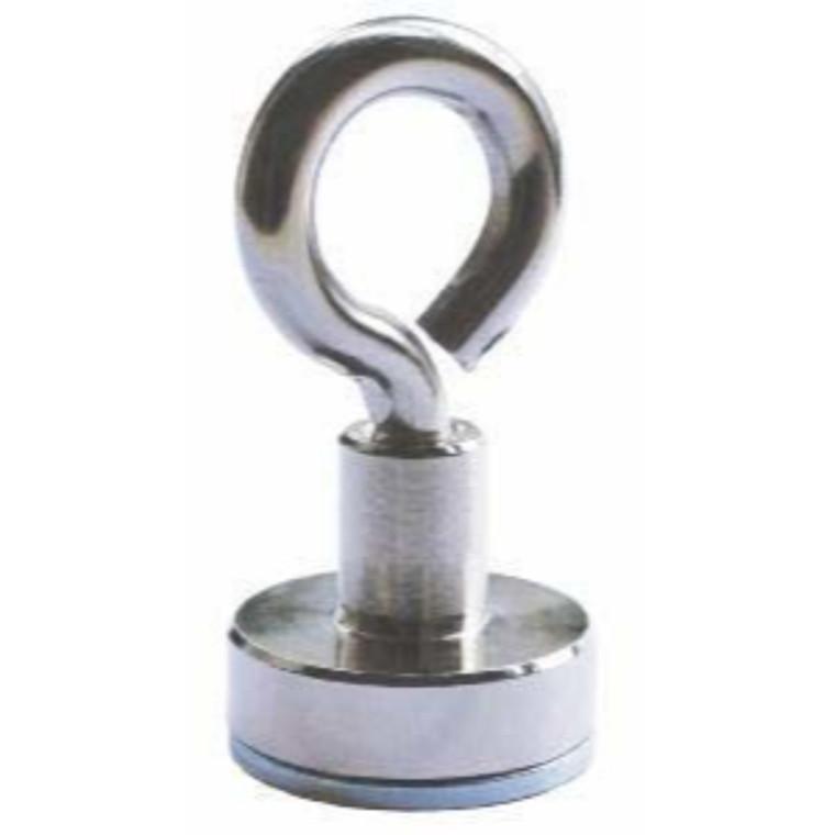 Lave pottemagneter med øje Ø16 - Ø32 mm Neodymium