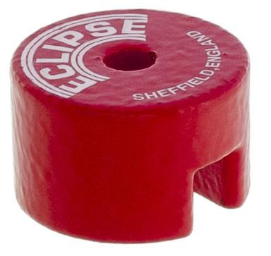 Knapmagneter røde Ø12,7 - Ø31,8 mm AlNiCo