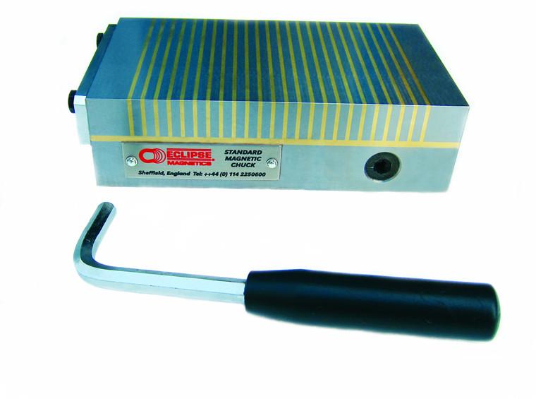 Magnetplan standardserie rektangulær med fin eller standard pol
