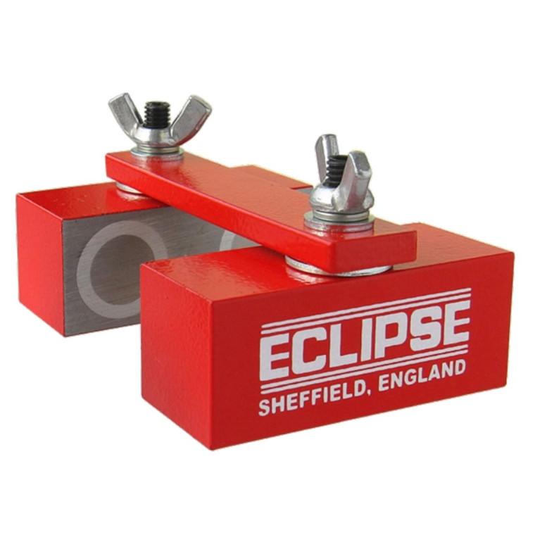 Eclipse justerbare ledopdelte AlNiCo svejsemagneter 360 grader roterbare