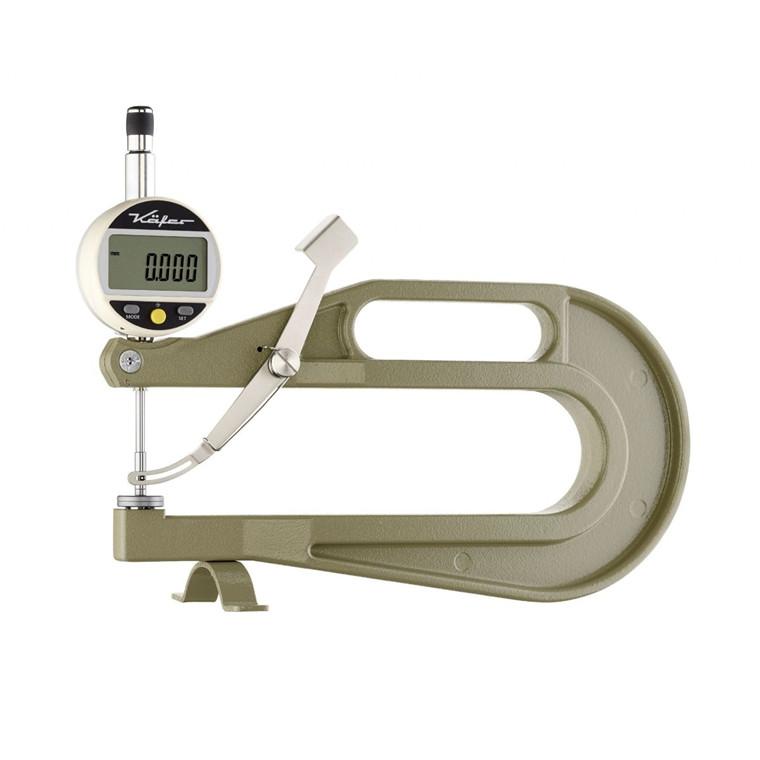 Käfer digital tykkelsesmåler 0,001mm, 0-25 mm Måletast  Ø10mm, RS232, FD200/25