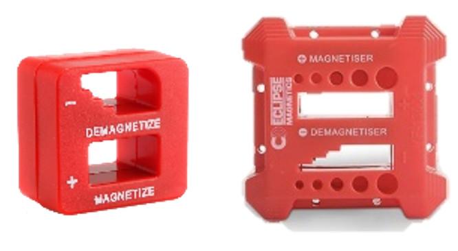Eclipse magnetisering og afmagnetiseringsklods Lille eller stor