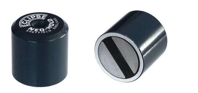 Høje to-polede magneter med indv. Gevind Ø12,7 - Ø25,4 mm Neodymium