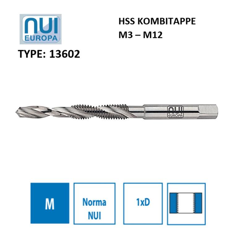 NUI HSS kombitappe M3 - M12