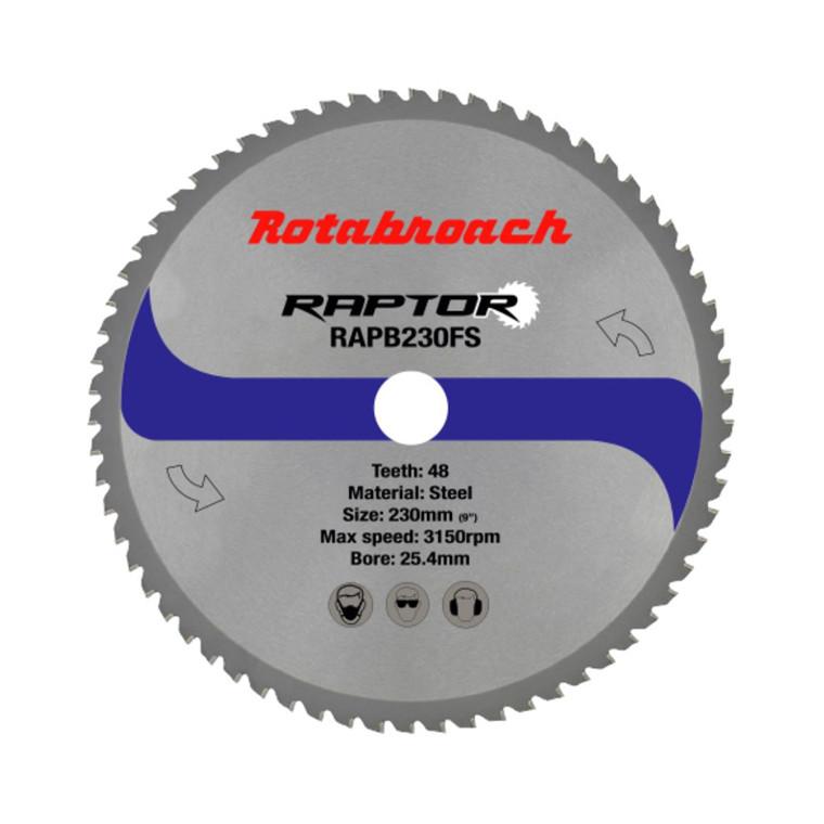 Rotabroach HM klinge 230x25,4 Z48 Stål