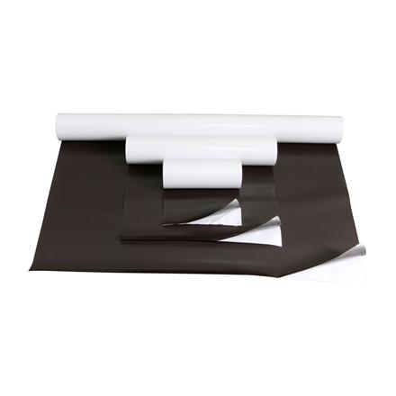 Magnetfolie i ruller 0,5x620 - 0,6x1000 mm