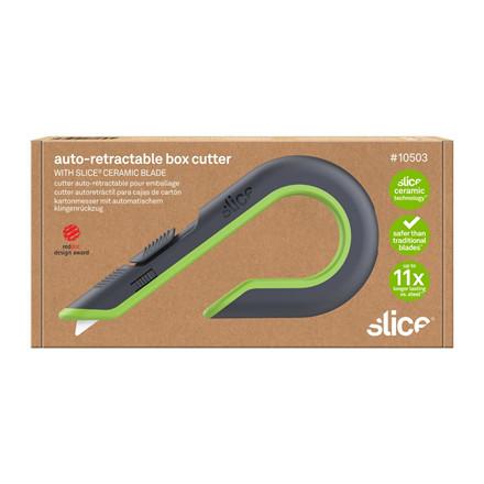 Slice® Box Cutter auto-tilbageføring 10503 Inkl.bladnr 10404   Udskif. blad