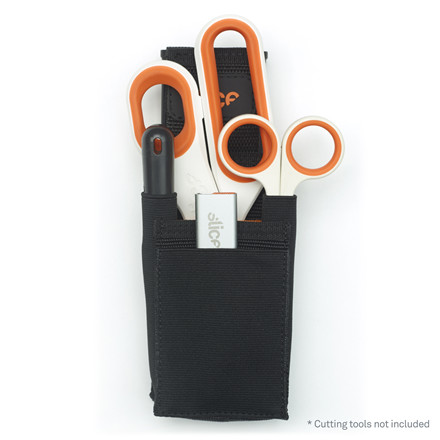 Slice værktøjshylster med bælteklips 10516 med 5 lommer
