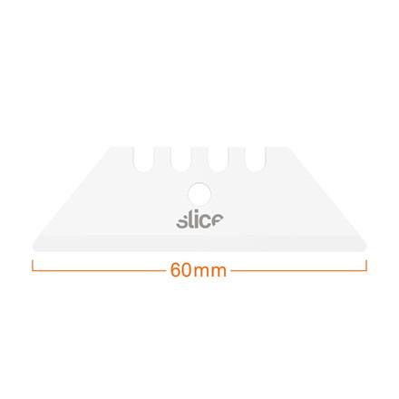 Slice® Knivblad 10524 afrundet til standardkniv 2 dobbeltsidede blade i indpakningen