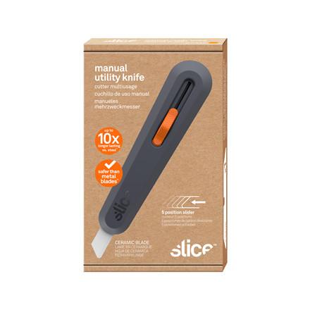 Slice® Kniv med nylonhåndtag. Standard 10550 Inkl.bladnr 10526   5-position Udskif.blad