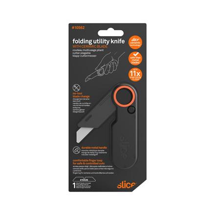 Slice® Foldekniv med kraftigt metalhåndtag 10562 Inkl.bladnr 10526    Udskif.blad