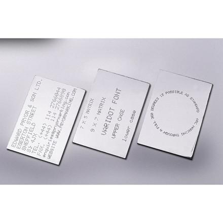 PRYOR PortaDot mærkningsmaskine til metalprægning Skrivefelt 50 x 25 med touchscreen 4000 controller