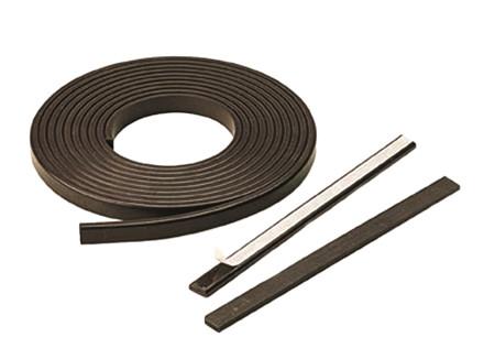 Magnetbånd med klæb  Bredde 7,5 - 25,4 mm