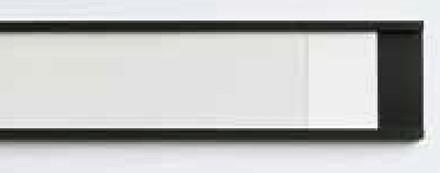 Magnetiske labelholdere inkl. Pap/akrylomslag i pk. eller ruller.