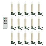 Trådløse LED juletræslys m/clips Boligtilbehør - GN