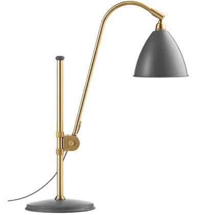 Bestlite BL1 Bordlampe Ø16 Messing/Grå - GUBI