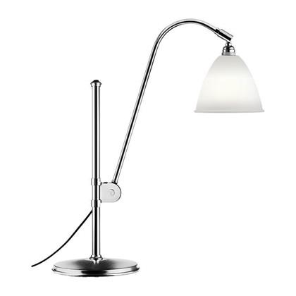 Bestlite BL1 Bordlampe Ø16 Krom/Porcelæn - GUBI