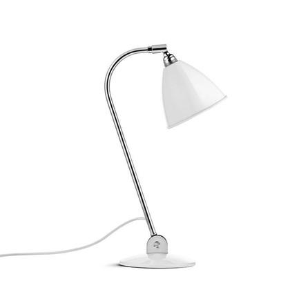 Bestlite BL2 Bordlampe Ø16 Krom/Mat Hvid - GUBI