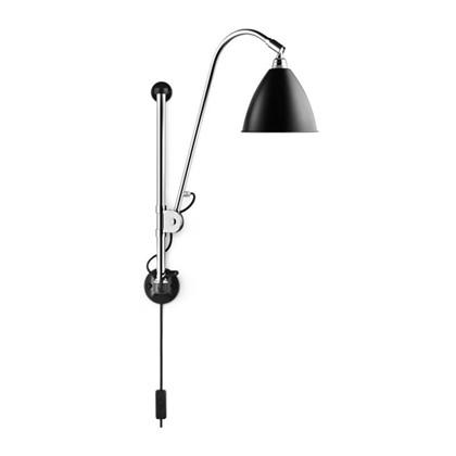 Bestlite BL5 Væglampe Ø16 Krom/Sort - GUBI