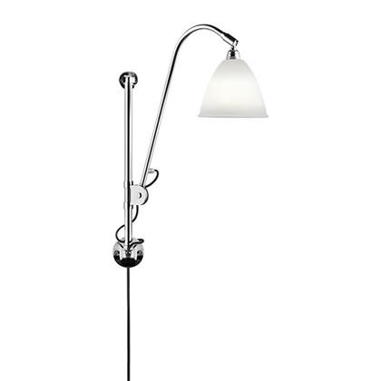 Bestlite BL5 Væglampe Ø16 Krom/Porcelæn - GUBI