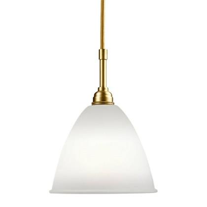 Bestlite BL9 Medium Pendel Lampe - Messing og Porcelæn - Gubi