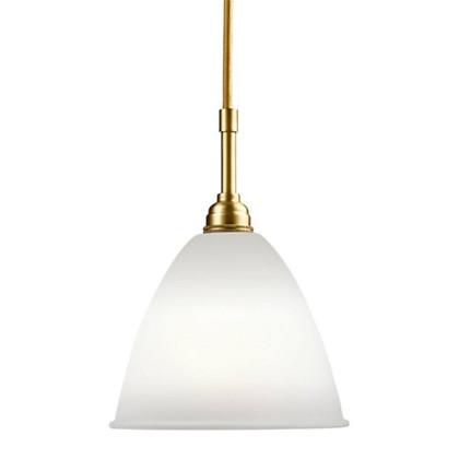 Bestlite BL9 Small Pendel Lampe - Messing og Porcelæn - Gubi