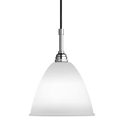 Bestlite BL9 Medium Pendel Lampe - Krom og Porcelæn - Gubi