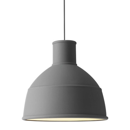 Unfold Pendel Lampe Mørkgrå - Muuto