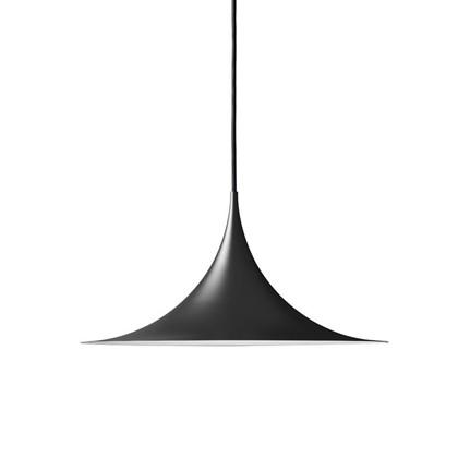 Semi Pendel Lampe Ø60 - Sort - Gubi