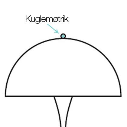 Panthella Kuglemøtrik - Louis Poulsen