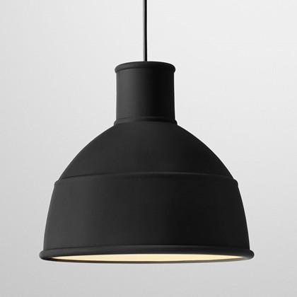 Unfold Pendel Lampe Sort - Muuto