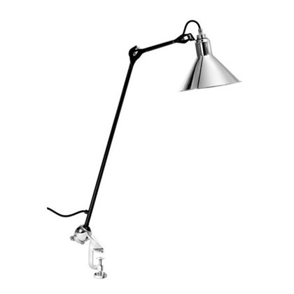 201 Bordlampe Sort/Krom - Lampe Gras