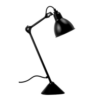 205 Bordlampe Sort/Sort - Lampe Gras