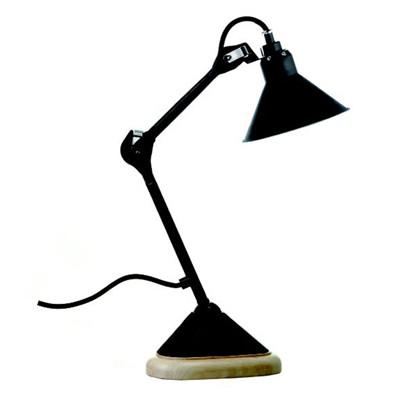 207 Bordlampe Sort/Sort - Lampe Gras